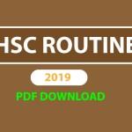 HSC routine 2019