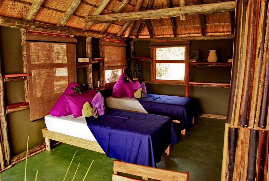 Epupa Falls Lodge Chalet Interior