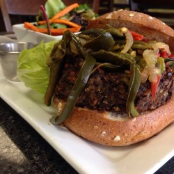 GI Veggie Burger @ The Green Ingredient
