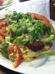 Falafel Sandwich at Zino's, Best Mediterranean