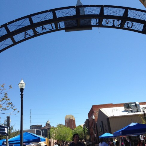 Union Plaza during the Downtown Artist & Farmers Market