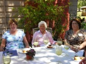 Betsy Hase, Beth Hines and Vicki Gerber, guest