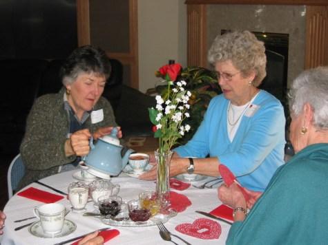 Carolyn Steiber & Lorene Proud