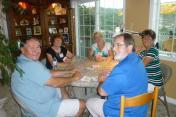 Players, Steve Schanck, Jenn Ashton, Janet Siedlecki, Jan Wheeler, and Dave Giles.