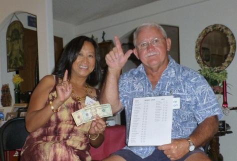 Aleli was the big prize winner where Lonnie was the biggest loser!