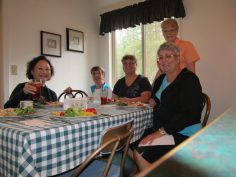 Knotty Ladies enjoy a delicious lunch
