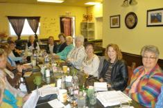 Phyllis Fletcher, Gerene Leffingwell, Betsy Hase, Lois Clement, Betty Clement, Kristine Frey, Valarie Taylor-Crow & Maxine Williams.