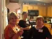Sharyn Close, Kristine Frey and Fay Houghton