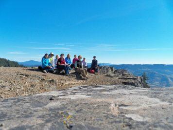 Susan Watsom, Joan Devlin, Georgia. Kristine Frey, Martha Roy, Gerene, Linda Sparks, Janet Siedlecki, and Margo