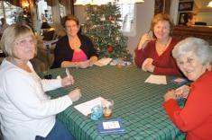 Karen Lisee, Joyce Todd, Betsy Hase, and Mary Ann Olsen
