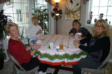Janet Siedlecki, Marcia McIntyre, Joan Devlin and Gayle Schanck