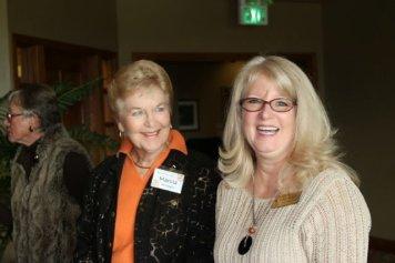 Marcia McIntyre and Gayle Schanck
