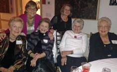 Marcia McIntyre, Joan Devlin, Ida Tolmie, Char Hoppe, Mary Ann Olsen & Phyllis Fletcher