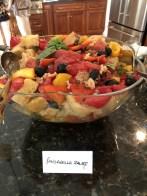 Susan Watson's panzanella salad