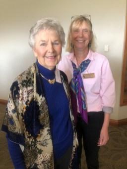 Martha Roy and Marcia McIntyre