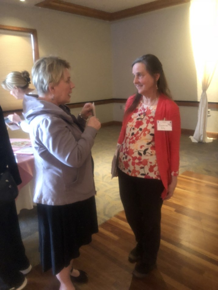 Presenter, Suzanne Sky, provides more information for Diane Sproat