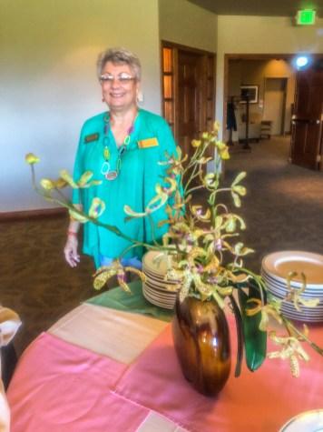 Maxine Williams, luncheon coordinator