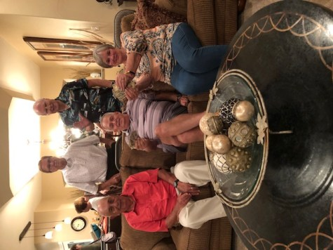 Couples 3-13 Potluck at Rich & Linda Sparks' in September, 2019