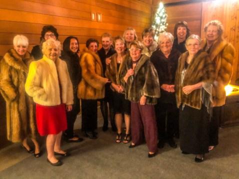 Ladies in their furs