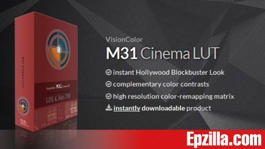 M31 & OSIRIS Cinema & Film LUTS