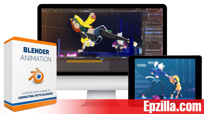 Bloop Animations Blender Animation Free Download Epzilla.com