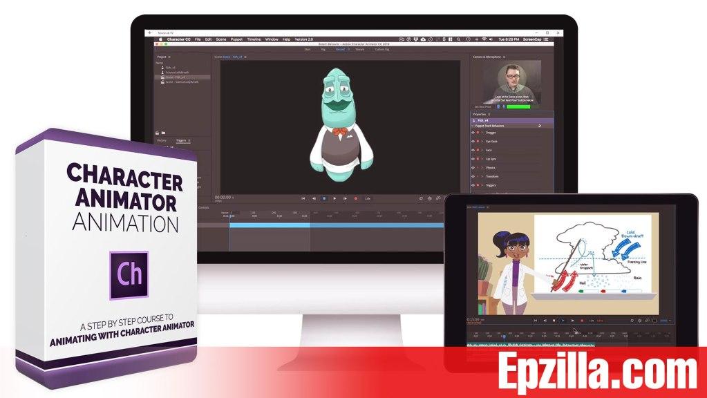 Bloop Animations – Character Animator Animation