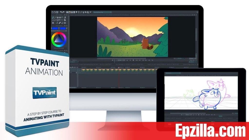 Bloop Animation – TVPaint Animation