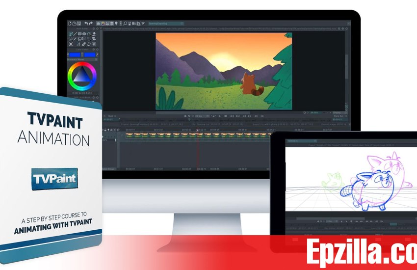 Bloop Animations TVPaint Animation Free Download Epzilla.com