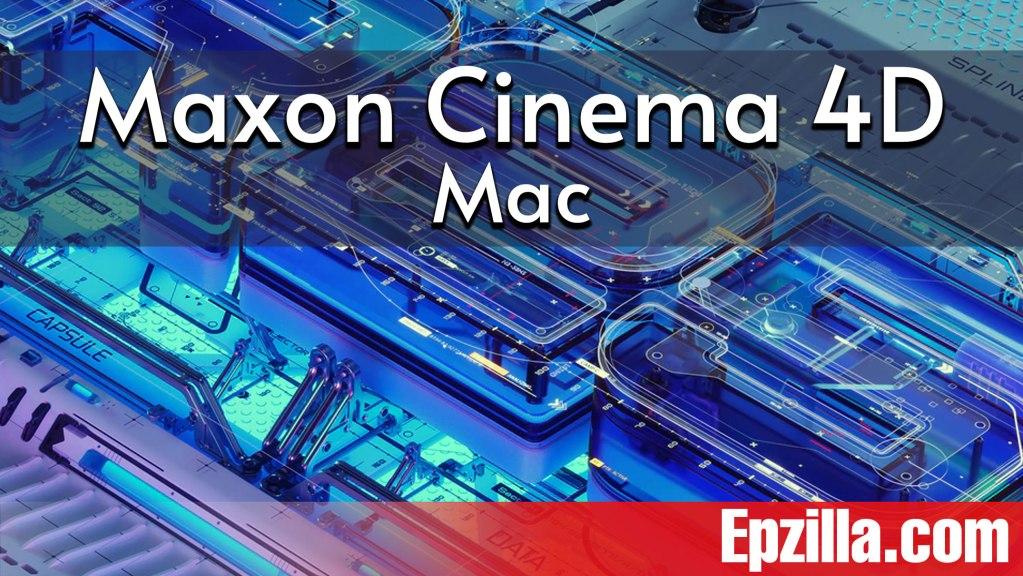 Maxon Cinema 4D Studio R25.110 For Mac