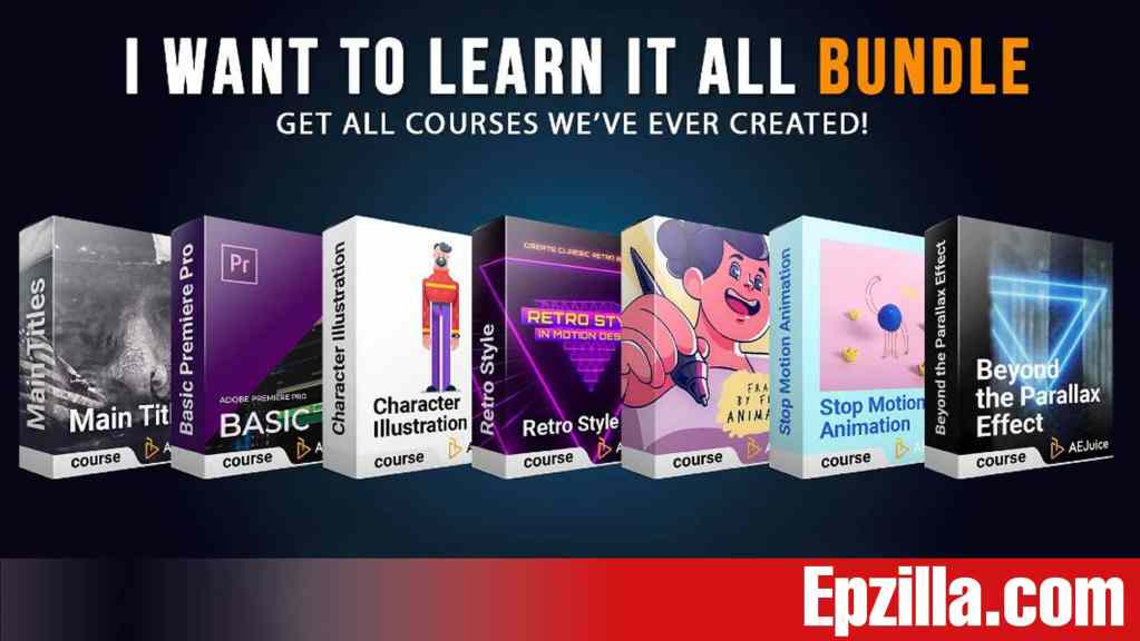 AEJuice – I Want To Learn It All Bundle