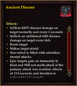 Effect - Anceint Disease