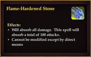 Effect - Flame-Hardened Stone
