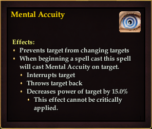 Effect - Mental Accuity