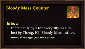 Effect - Bloody Mess Counter