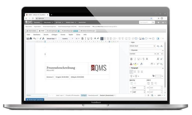eQMS Online Office Integration