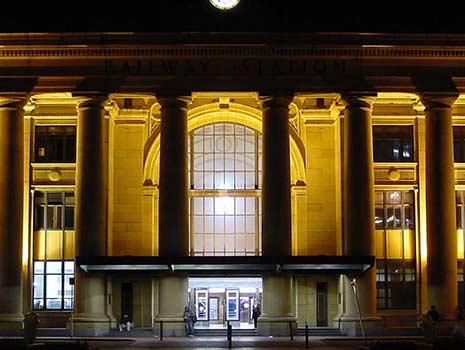 Testing of existing masonry walls at Wellington Station