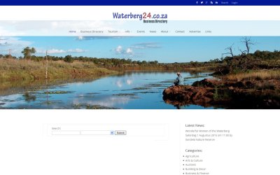 Waterberg24.co.za Business Directory Upgraded