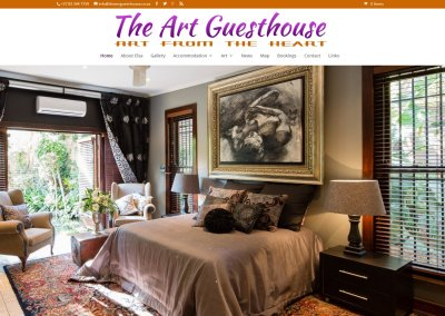 The Art Guesthouse in Hartbeespoort