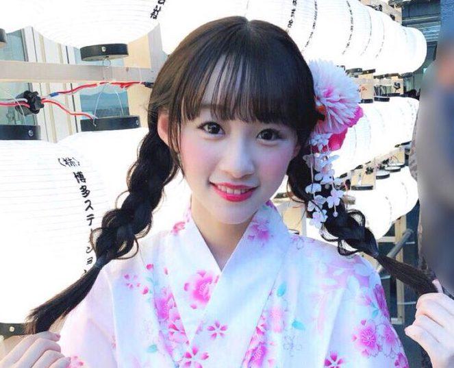 イコラブ 音嶋莉沙『福岡に帰ってきてるよ〜💕 今年初めて、お祭りに行ったぁ🎐』