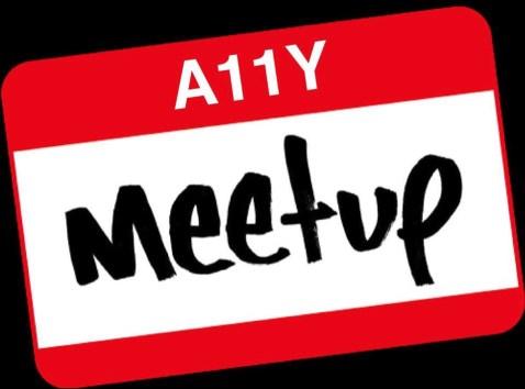 A11y Meetup logo