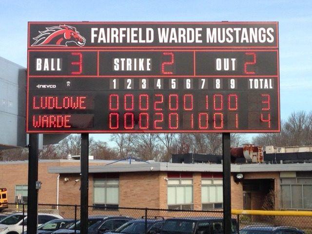 Fairfield-Warde-High-School-Fairfield-CT-Model-1608ETN-Baseball-Scoreboard-e1563813641908