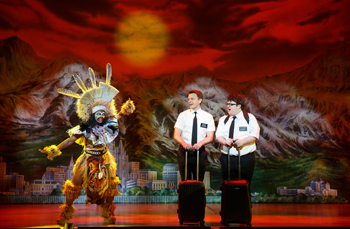 "David Larsen is on a Mission in Seattle with ""The Book of Mormon"""