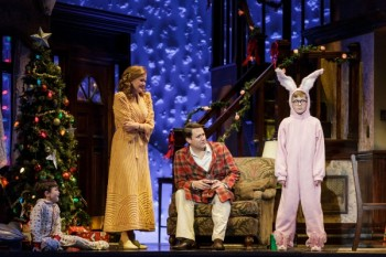 "Dane Stokinger Is A Curmudgeon In ""A Christmas Story"""