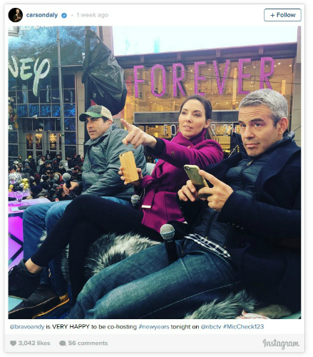 Andy Cohen New Years