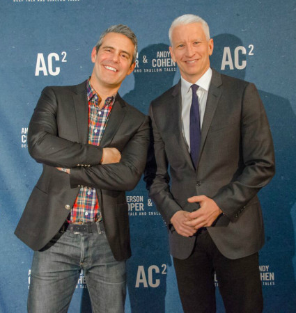 Andy Cohen & Anderson Cooper