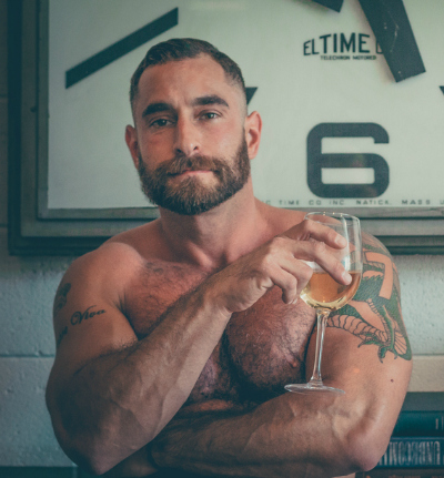 Interview: The Bear-Naked Chef Adrian De Berardinis