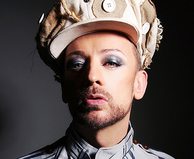 Boy George and his hats on equlaity365.com