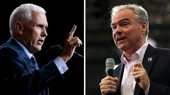 Live Stream: Vice Presidential Debate Kaine Vs Pence
