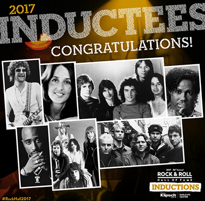 Rock & Roll Hall Of Fame 2017 Inductees