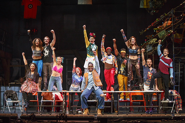 """RENT"" Is Due At Seattle's Paramount Theatre Tonight"